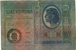 100 Kronen ROUMANIE  1919 P.R09 TB