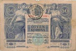 50 Korona ROUMANIE  1919 P.R17 TB