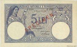 5 Lei ROUMANIE  1938 P.040s pr.NEUF