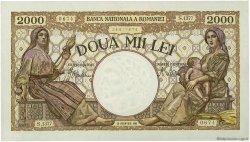2000 Lei ROUMANIE  1941 P.053a NEUF