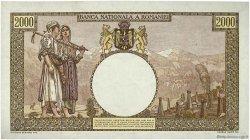 2000 Lei ROUMANIE  1944 P.054a NEUF