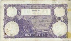 100 Lei ROUMANIE  1913 P.021 TB