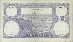 100 Lei ROUMANIE  1921 P.021 TTB