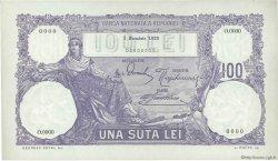 100 Lei ROUMANIE  1923 P.021s pr.NEUF