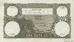 100 Lei ROUMANIE  1940 P.049var TTB