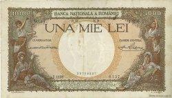 1000 Lei ROUMANIE  1938 P.046 TB+