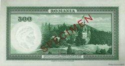 500 Lei ROUMANIE  1934 P.036s pr.NEUF