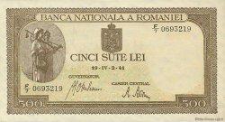 500 Lei ROUMANIE  1941 P.051a pr.NEUF
