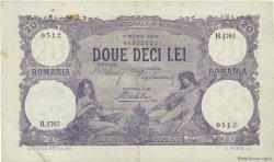 20 Lei ROUMANIE  1919 P.020 TTB