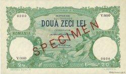 20 Lei ROUMANIE  1939 P.041s SPL+