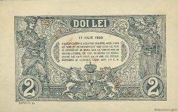 2 Lei ROUMANIE  1920 P.027s pr.NEUF