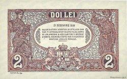 2 Lei ROUMANIE  1938 P.039a NEUF