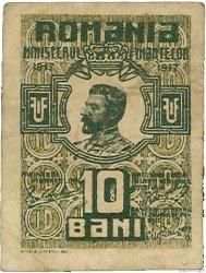 10 Bani ROUMANIE  1917 P.069 TTB
