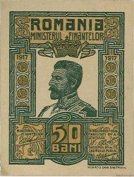 50 Bani ROUMANIE  1917 P.071 pr.NEUF