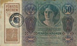 50 Kronen ROUMANIE  1919 P.R07 pr.TTB