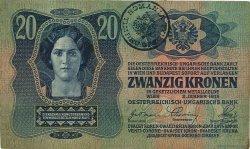 20 Kronen ROUMANIE  1919 P.R04