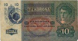 10 Kronen ROUMANIE  1919 P.R02 TTB