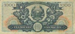 1000 Lei ROUMANIE  1948 P.085a TB