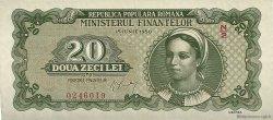 20 Lei ROUMANIE  1950 P.084a pr.NEUF