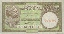20 Lei ROUMANIE  1947 P.077 TTB+