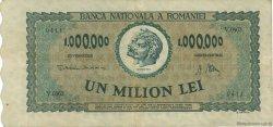 1000000 Lei ROUMANIE  1947 P.060a TTB