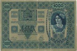 1000 Korona ROUMANIE  1919 P.R21 TB+