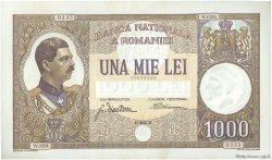 1000 Lei ROUMANIE  1934 P.037a SPL