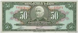 50 Gourdes HAÏTI  1980 P.235 NEUF
