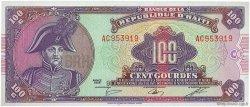 100 Gourdes HAÏTI  1986 P.250a NEUF