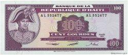 100 Gourdes HAÏTI  1991 P.258a NEUF