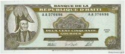 250 Gourdes HAÏTI  1994 P.263a NEUF