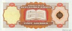 20 Gourdes HAÏTI  2001 P.271Aa NEUF