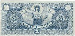 5 Sucres ÉQUATEUR  1920 PS.252r pr.SPL