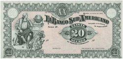 20 Sucres ÉQUATEUR  1920 PS.253r pr.NEUF