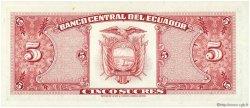 5 Sucres ÉQUATEUR  1979 P.113c NEUF