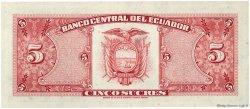 5 Sucres ÉQUATEUR  1980 P.113c NEUF