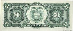 50 Sucres ÉQUATEUR  1974 P.116d NEUF