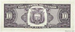 100 Sucres ÉQUATEUR  1976 P.118b SPL