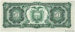 50 Sucres ÉQUATEUR  1984 P.122a NEUF