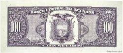 100 Sucres ÉQUATEUR  1993 P.123Ab NEUF