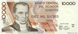 10000 Sucres ÉQUATEUR  1988 P.127a NEUF