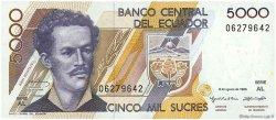 5000 Sucres ÉQUATEUR  1995 P.128b NEUF