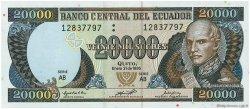 20000 Sucres ÉQUATEUR  1995 P.129a NEUF