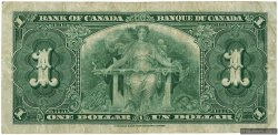 1 Dollar CANADA  1937 P.058d TB