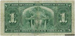 1 Dollar CANADA  1937 P.058e B