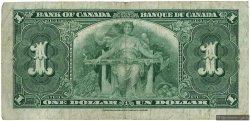 1 Dollar CANADA  1937 P.058e B+