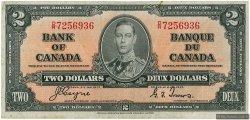 2 Dollars CANADA  1937 P.059c pr.TTB