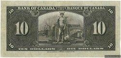 10 Dollars CANADA  1937 P.061b TTB