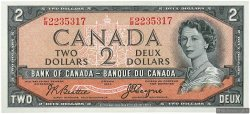 2 Dollars CANADA  1954 P.067b NEUF