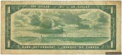 1 Dollar CANADA  1954 P.074b TB